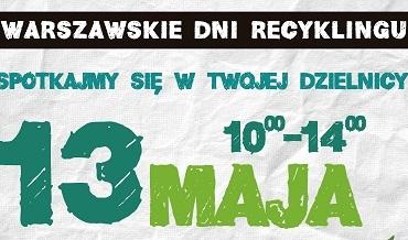 Oddaj elektrośmieci w zamian za sadzonki na Warszawskich Dniach Recyklingu